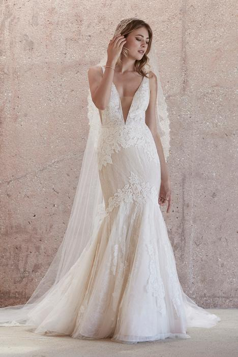 Campbell Wedding                                          dress by Watters Brides