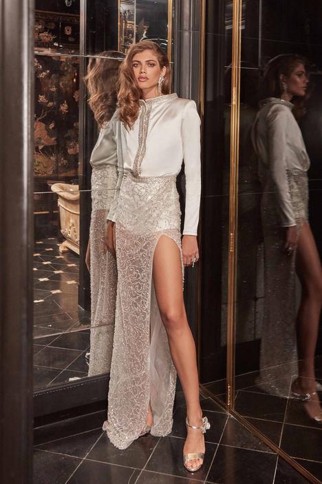 Sampaio Wedding                                          dress by Galia Lahav Bridal Couture
