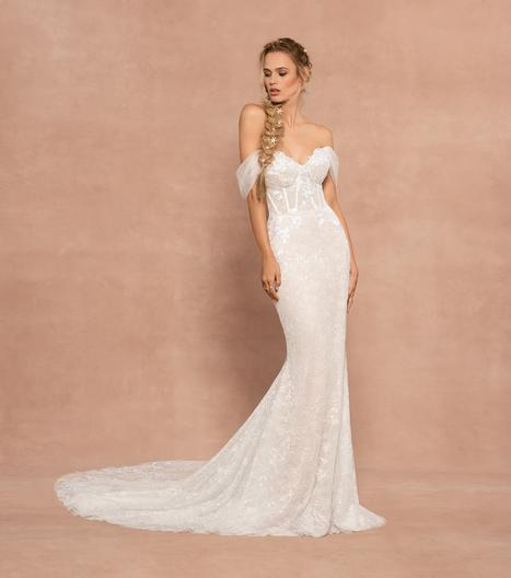 REba Wedding                                          dress by Hayley Paige