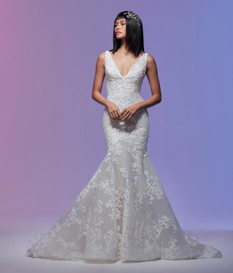 Vivien Wedding                                          dress by Lazaro