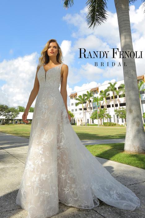Abby Wedding                                          dress by Randy Fenoli Bridal