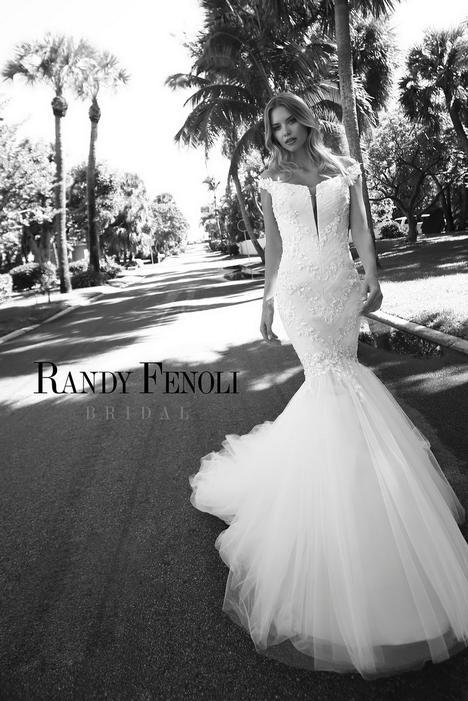 Adrianna Wedding                                          dress by Randy Fenoli Bridal