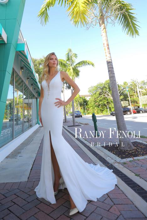Alessandra Wedding                                          dress by Randy Fenoli Bridal