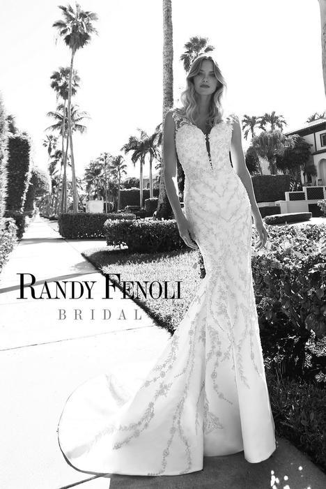 Alexandria Wedding                                          dress by Randy Fenoli Bridal