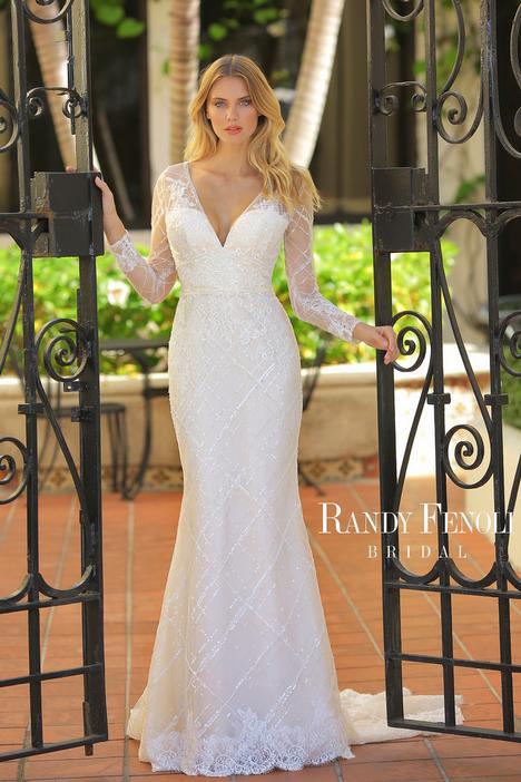 Alex Wedding                                          dress by Randy Fenoli Bridal