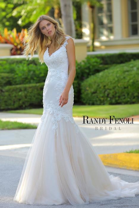 Amber Wedding                                          dress by Randy Fenoli Bridal