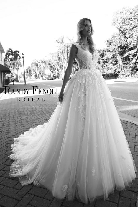 Anastacia Wedding                                          dress by Randy Fenoli Bridal