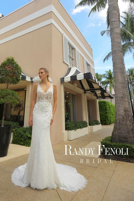 Andrea Wedding                                          dress by Randy Fenoli Bridal