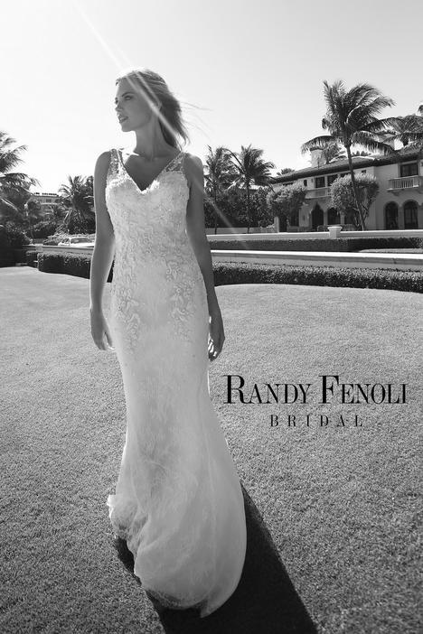 Angel Wedding                                          dress by Randy Fenoli Bridal