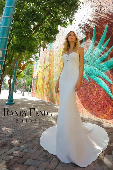 Anita Wedding                                          dress by Randy Fenoli Bridal