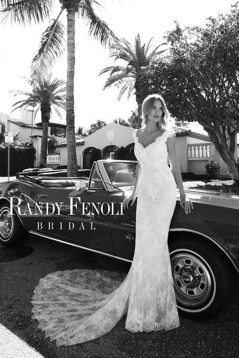 Anna Wedding                                          dress by Randy Fenoli Bridal