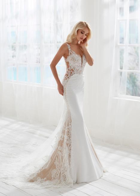 Barcelona Wedding                                          dress by Randy Fenoli Bridal