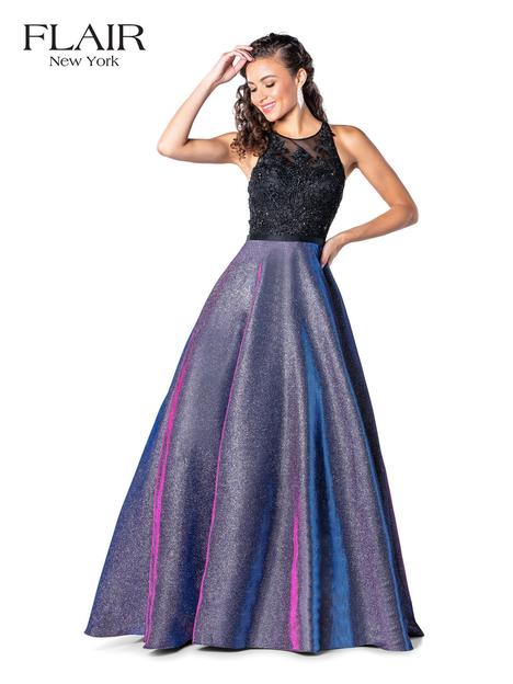 Prom                                             dress by Flair Prom