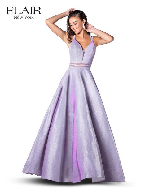 Style 20052 gown from the 2020 Flair Prom collection, as seen on dressfinder.ca