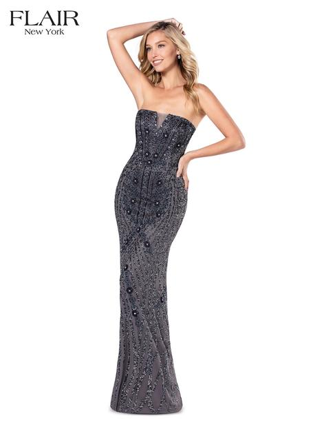 Style 20078 gown from the 2020 Flair Prom collection, as seen on dressfinder.ca