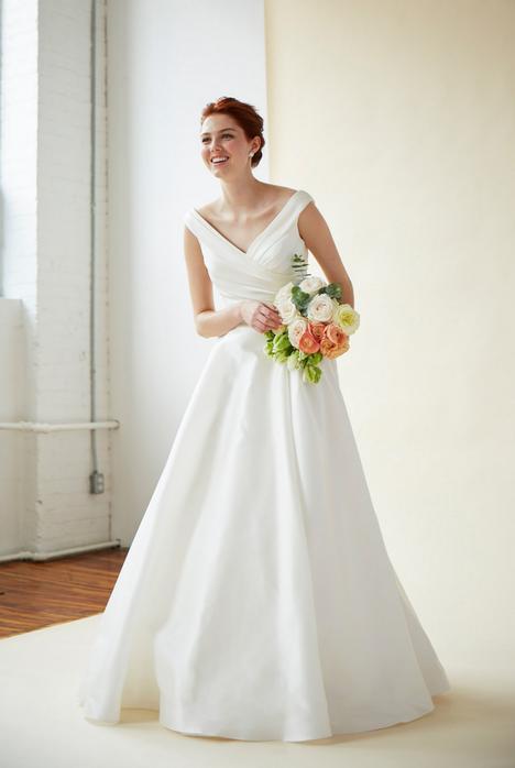 Aubrey Wedding                                          dress by Lea-Ann Belter