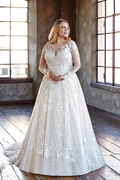 Wedding                                          dress by Eddy K Curvy