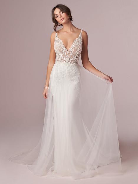 Carmen Wedding                                          dress by Rebecca Ingram