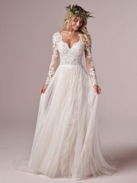 Iris Wedding                                          dress by Rebecca Ingram