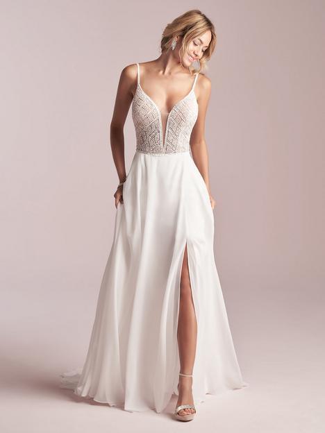 Jody Wedding                                          dress by Rebecca Ingram
