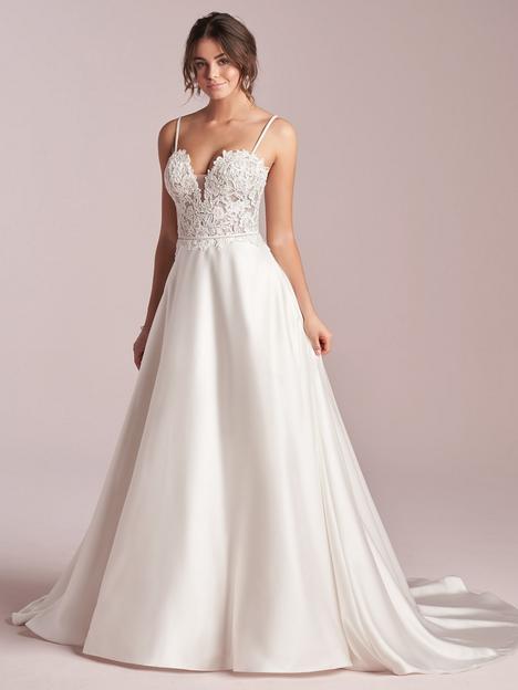 Leota Wedding                                          dress by Rebecca Ingram