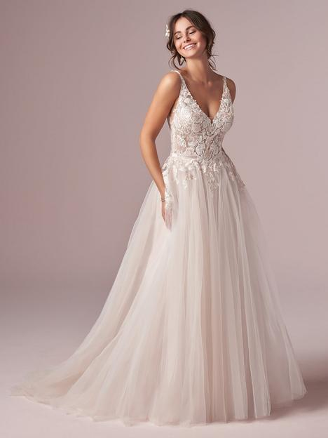 Minerva Wedding                                          dress by Rebecca Ingram