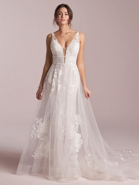 Priscilla Wedding                                          dress by Rebecca Ingram