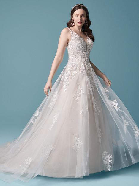 Winslow Wedding                                          dress by Maggie Sottero