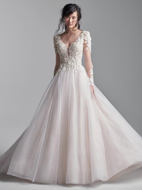 Mathias Wedding                                          dress by Sottero and Midgley
