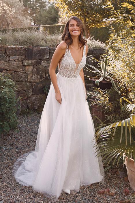 Wedding                                          dress by Justin Alexander