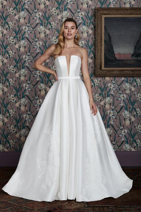 Hampton Wedding                                          dress by Justin Alexander Signature