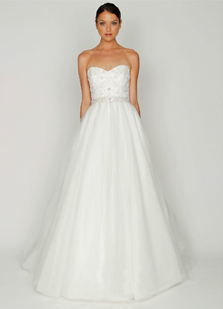 1202 gown from the 2012 Monique Lhuillier: Bliss collection, as seen on dressfinder.ca