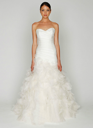 1213 gown from the 2012 Monique Lhuillier: Bliss collection, as seen on dressfinder.ca