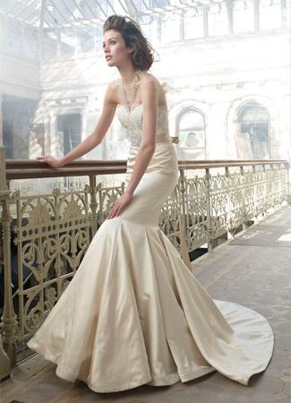 3207 Wedding                                          dress by Lazaro