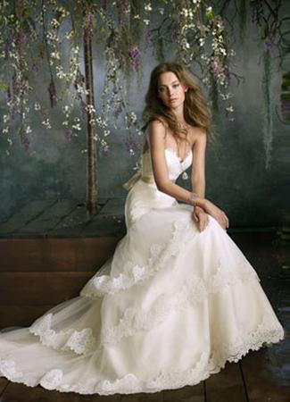 2052 Wedding                                          dress by Tara Keely