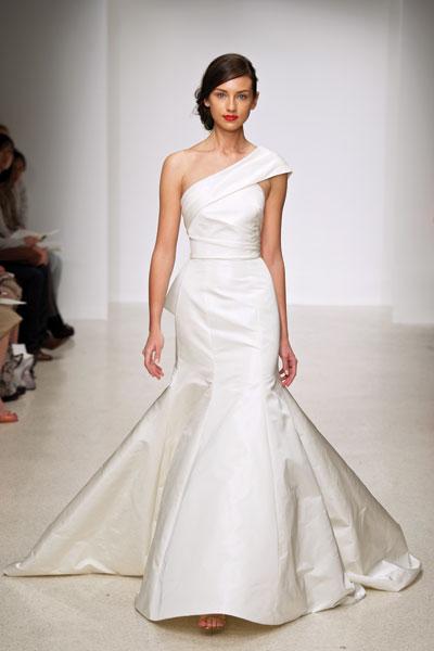 Harbor Wedding                                          dress by Amsale