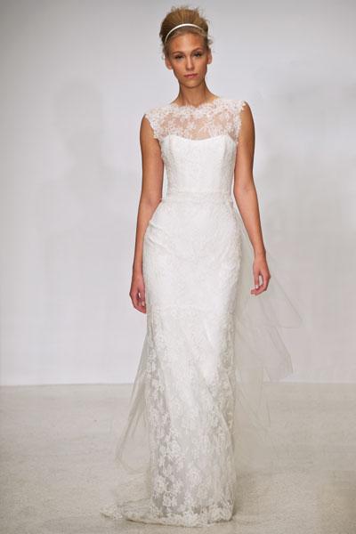 Eve Wedding                                          dress by Christos