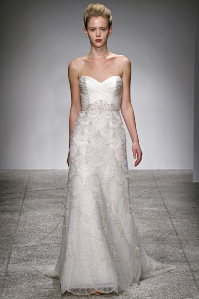 Estelle gown from the 2012 Kenneth Pool collection, as seen on dressfinder.ca