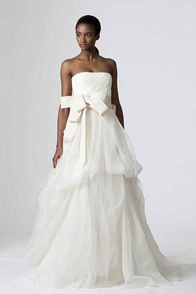 Dinah Wedding                                          dress by Vera Wang