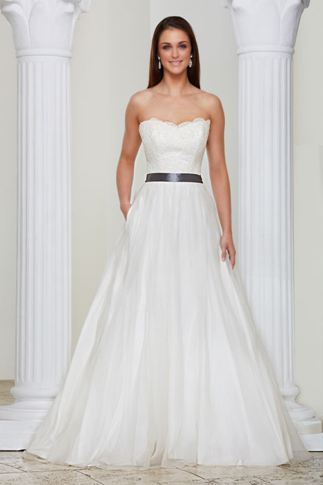 Eugenie Wedding                                          dress by Caroline Castigliano