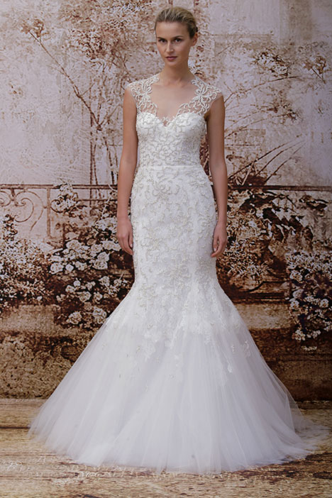 Adele gown from the 2014 Monique Lhuillier collection, as seen on dressfinder.ca