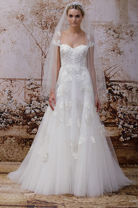 Esme gown from the 2014 Monique Lhuillier collection, as seen on dressfinder.ca