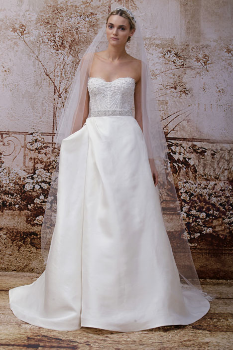 Maxfield gown from the 2014 Monique Lhuillier collection, as seen on dressfinder.ca