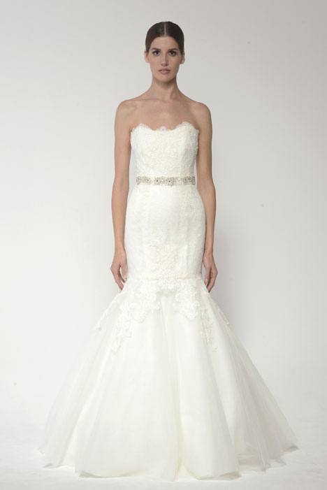 1405 gown from the 2014 Monique Lhuillier: Bliss collection, as seen on dressfinder.ca