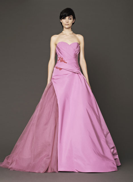 Nanon gown from the 2014 Vera Wang collection, as seen on dressfinder.ca