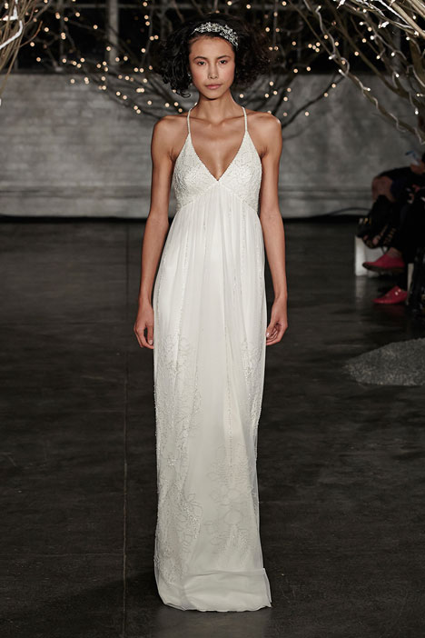 Summer gown from the 2014 Jenny Packham collection, as seen on dressfinder.ca