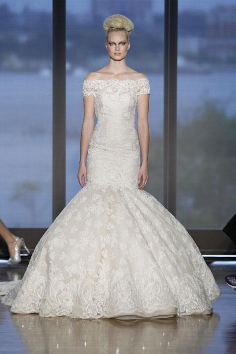 Iva Wedding                                          dress by Ines Di Santo