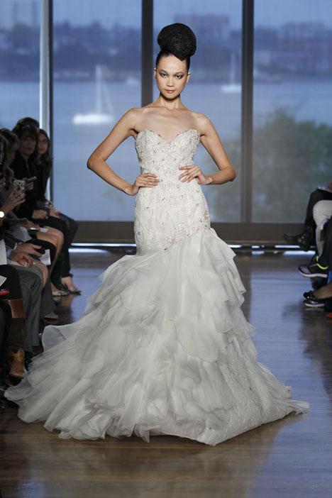 Leda Wedding                                          dress by Ines Di Santo