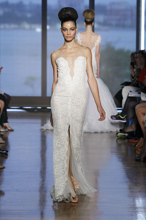 Maia gown from the 2014 Ines Di Santo collection, as seen on dressfinder.ca