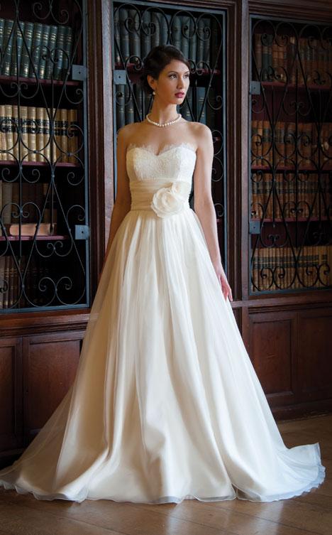 Ross Wedding                                          dress by Augusta Jones